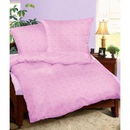 Bellatex Krepové obliečky fialová, 160 x 200 cm, 2ks 70 x 80 cm