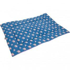 Samohýl exclusive Deka bavl. Ruženka modro-ružová 100 x 67 cm