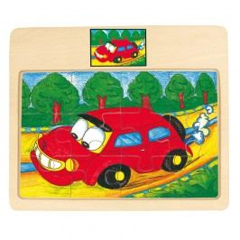 Puzzle na doske Auto Tori