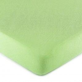 jersey prestieradlo zelená, 180 x 200 cm