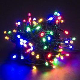 Vianočná svetelná reťaz, farebná, 80 LED