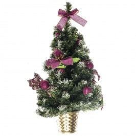 HTH Vianočná dekorácia na stenu 55 cm, ružová