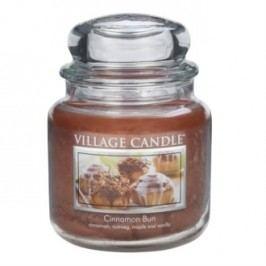 Village Candle Vonná svíčka ve skle, Skořicový koláč - Cinnamon Bun, 397 g, 397 g