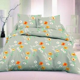Kvalitex saténové obliečky Flowers malé Luxury Collection, 200 x 200 cm, 2 ks 70 x 90 cm
