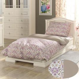 Kvalitex Bavlnené obliečky Provence Narista béžová, 240 x 200 cm, 2 ks 70 x 90 cm