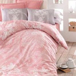 Homeville Obliečky Adeline pink bavlna, 220 x 200 cm, 2 ks 70 x 90 cm