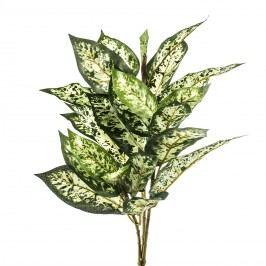 Umelá mramornatka skvrnitá, zeleno-žltá,45 cm, HTH