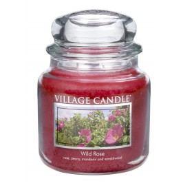 Village Candle Vonná svíčka, Divoká růže - Wild Rose, 397 g, 397 g