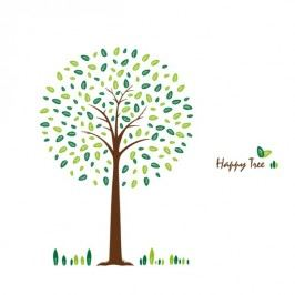 Samolepiaca dekorácia Happy Tree,