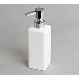 Dávkovač mydla hladký, biely