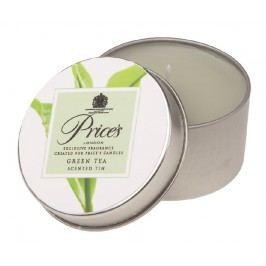 Price´s vonná sviečka v plechu Zelený čaj, 3 ks,
