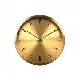 Karlsson KA5612GD Designové nástenné hodiny, 44 cm