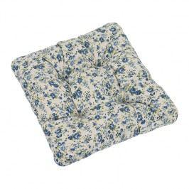 Sedák Ivo ružička modrá, 40 x 40 cm, súprava 2 ks