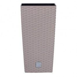 Prosperplast Rato square 26,5 x 26,5 x 50 cm moka