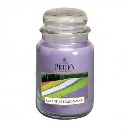 Price's Vonná sviečka v skle Large Jar Lavender