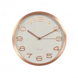 Karlsson KA5578WH Designové nástenné hodiny, 29 cm