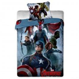 Jerry Fabrics Obliečky Avengers Amerika bavlna 140x200, 70x90 cm