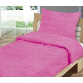 obliečky mikrovlákno Mikro ružové 140x200 70x90