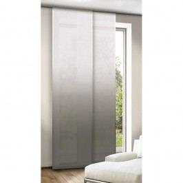 závesový panel Anita sivá, 245 x 60 cm
