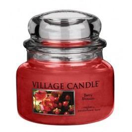 Village Candle Vonná sviečka v skle, Červené kvety - Berry Blossom, 11oz, 269 g