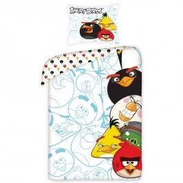 Halantex  Detské bavlnené obliečky Angry Birds 5002, 140 x 200 cm, 70 x 80 cm
