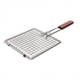 Hranatý grilovací rošt BBQ, 22 x 22 cm,