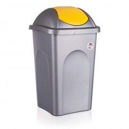Multipat odpadkový kôš 60 l žltá 5570155 vetro-plus, žltá, 60 l