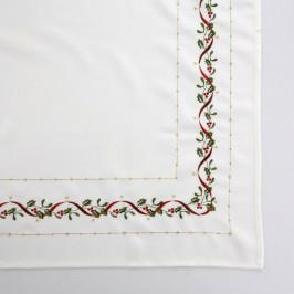 Altom Vianočný obrus White joy, 85 x 85 cm