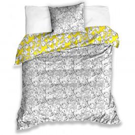 Tiptrade Detské saténové obliečky Tweety, 140 x 200 cm, 70 x 90 cm
