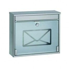 RICHTER BK60.SG Poštová oceľová schránka s tvrdeným sklom
