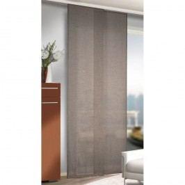 závesový panel Alex sivá, 245 x 60 cm