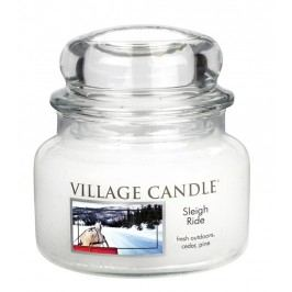 Village Candle Vonná svíčka ve skle, Zimní vyjížďka  - Sleigh ride, 269 g, 269 g