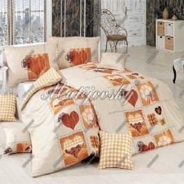 Matějovský bavlnené obliečky Heart, 200 x 210 cm, 2 ks 70 x 90 cm