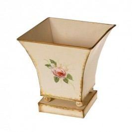 Kvetináč kovový Loira, 18 cm