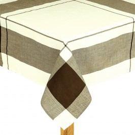 Obrus kocka hnedá, 140 x 180 cm, 140 x 180 cm