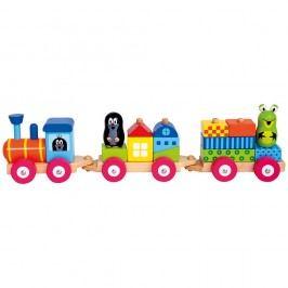 Vlak s domčekmi Krtko