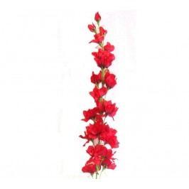 Umelá  kvetina stračonôžka, červená
