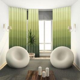 Záves s krúžkami Darking zelená 150 x 245 cm