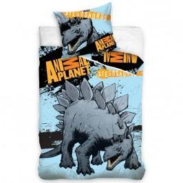 Bavlnené obliečky Animal Planet Stagosaurus, 140 x 200 cm, 70 x 90 cm