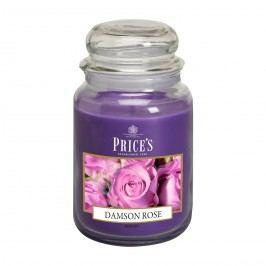 Price's Vonná sviečka v skle Large Jar Damson Rose