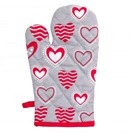 Chňapka Hearts, 17 x 30 cm