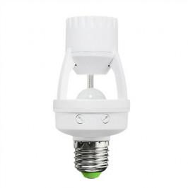 Snímač pohybu PIR - pre žiarovku E27 SOLIGHT WPIR06
