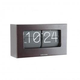 Karlsson 5620DW Designové stolné preklápacie hodiny