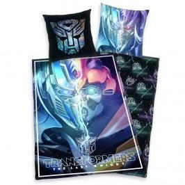 Detské bavlnené obliečky Transformers Posledný rytier, 140 x 200 cm, 70 x 90 cm