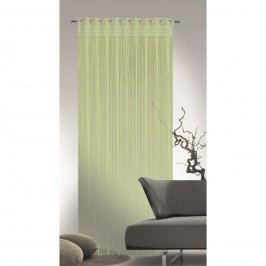 Povrázková záclona Cord zelená, 90 x 245 cm
