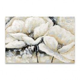 Autronic Obraz na plátne Flowers, béžová, OBR755911
