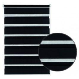 Gardinia Roleta easyfix dvojitá čierna, 75 x 150 cm