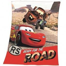 Detská deka Cars Ready, 130 x 160 cm