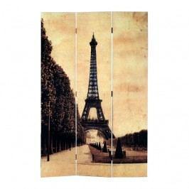 Paravan Eiffelová veža 3dielny