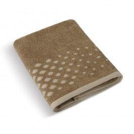 Froté uterák Béžový rad Hnedá mozaika, 50 x 100 cm, 50 x 100 cm